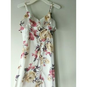 Band of Gypsies Floral Full Length Dress